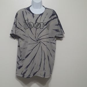 The Doors tied dyed gray/purple T-shirt Sz L